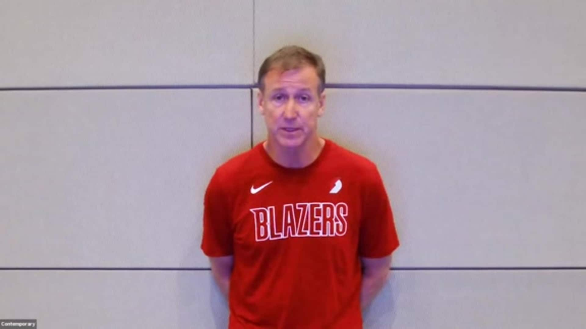 Coach Stotts Talks About the Team's Return to Practice