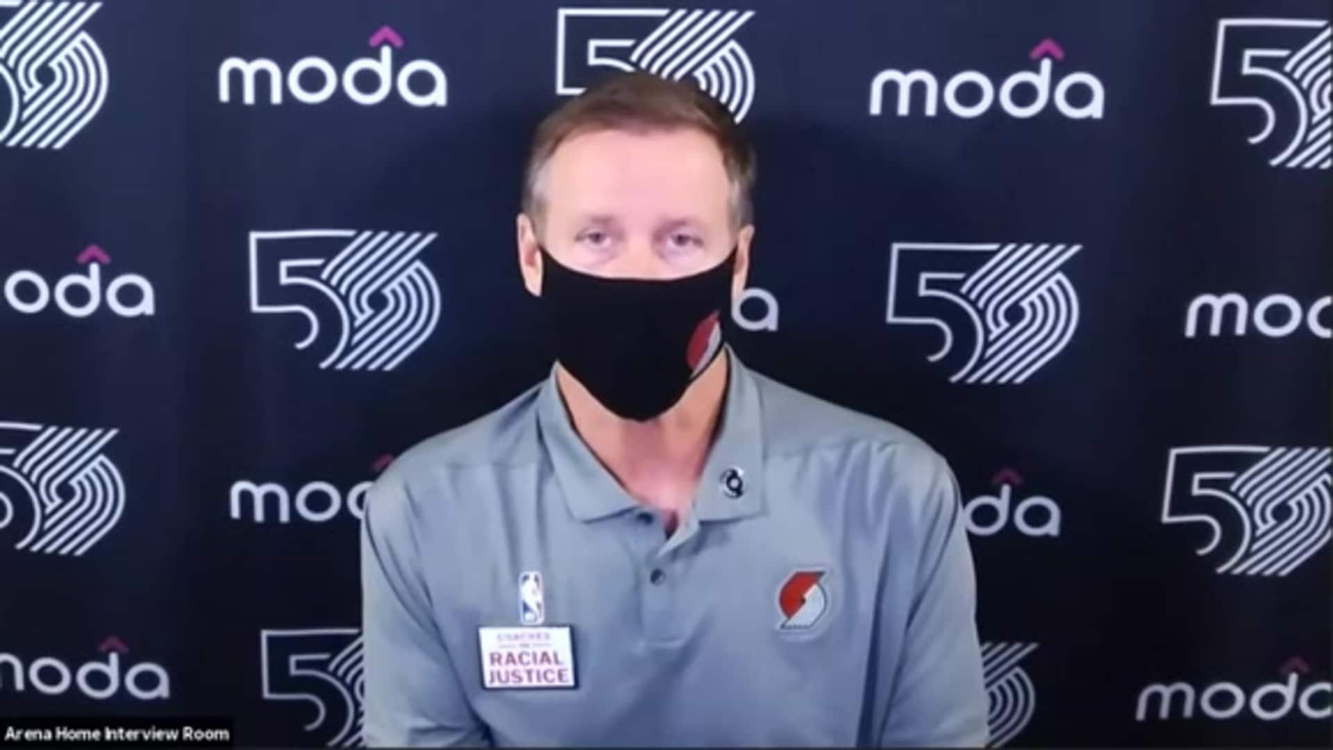 Terry Stotts after win vs. Houston