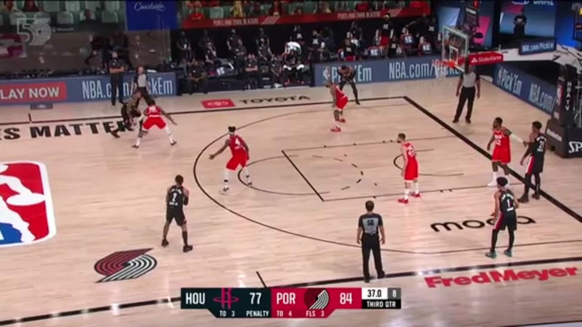 Highlights: Portland 110, Houston 102