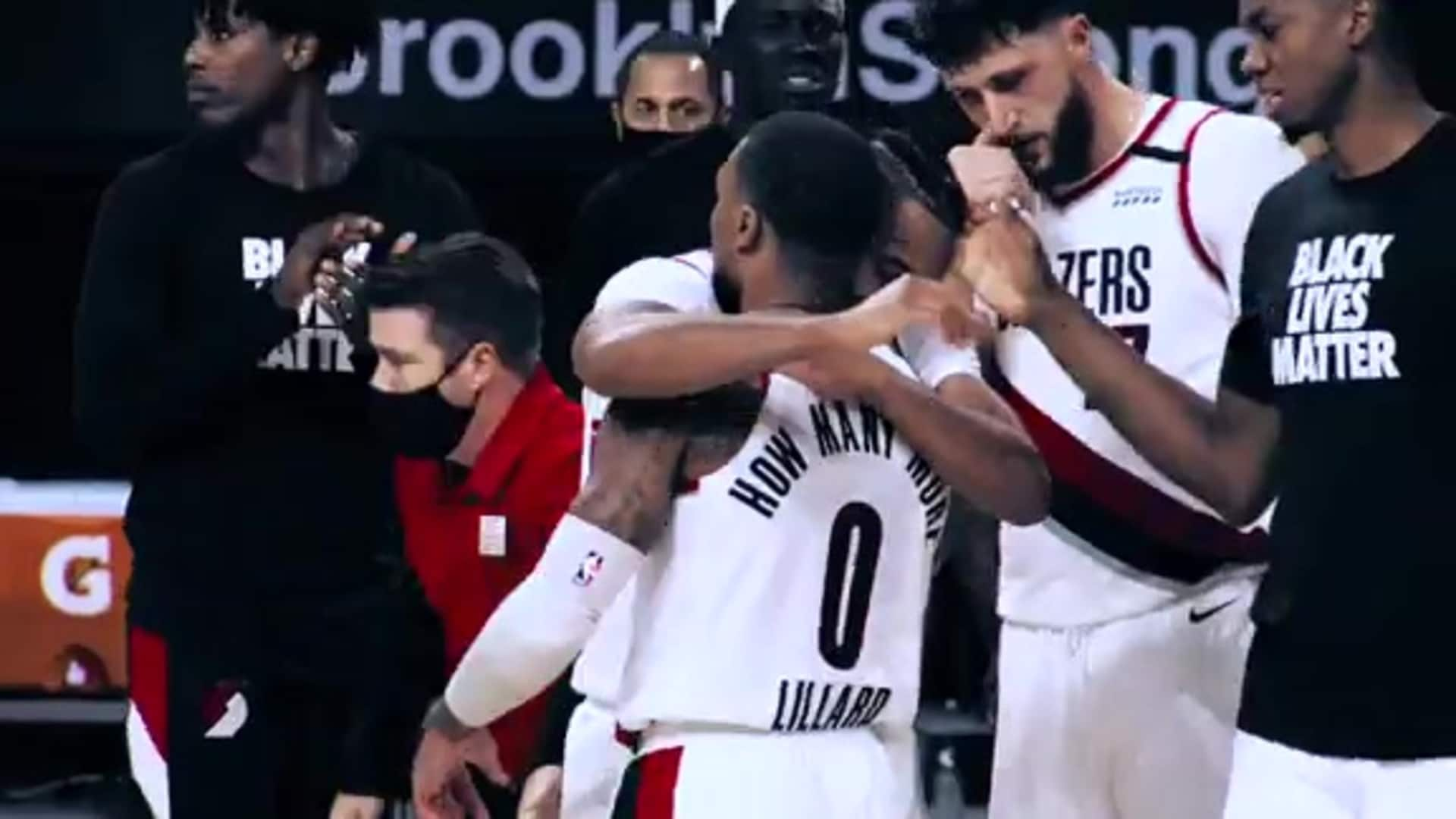 Game 8 Mini Movie - Blazers vs Nets