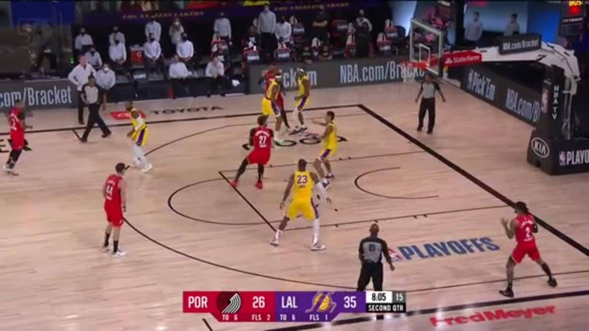 Portland 88, LA Lakers 111 | Game Highlights by McDelivery