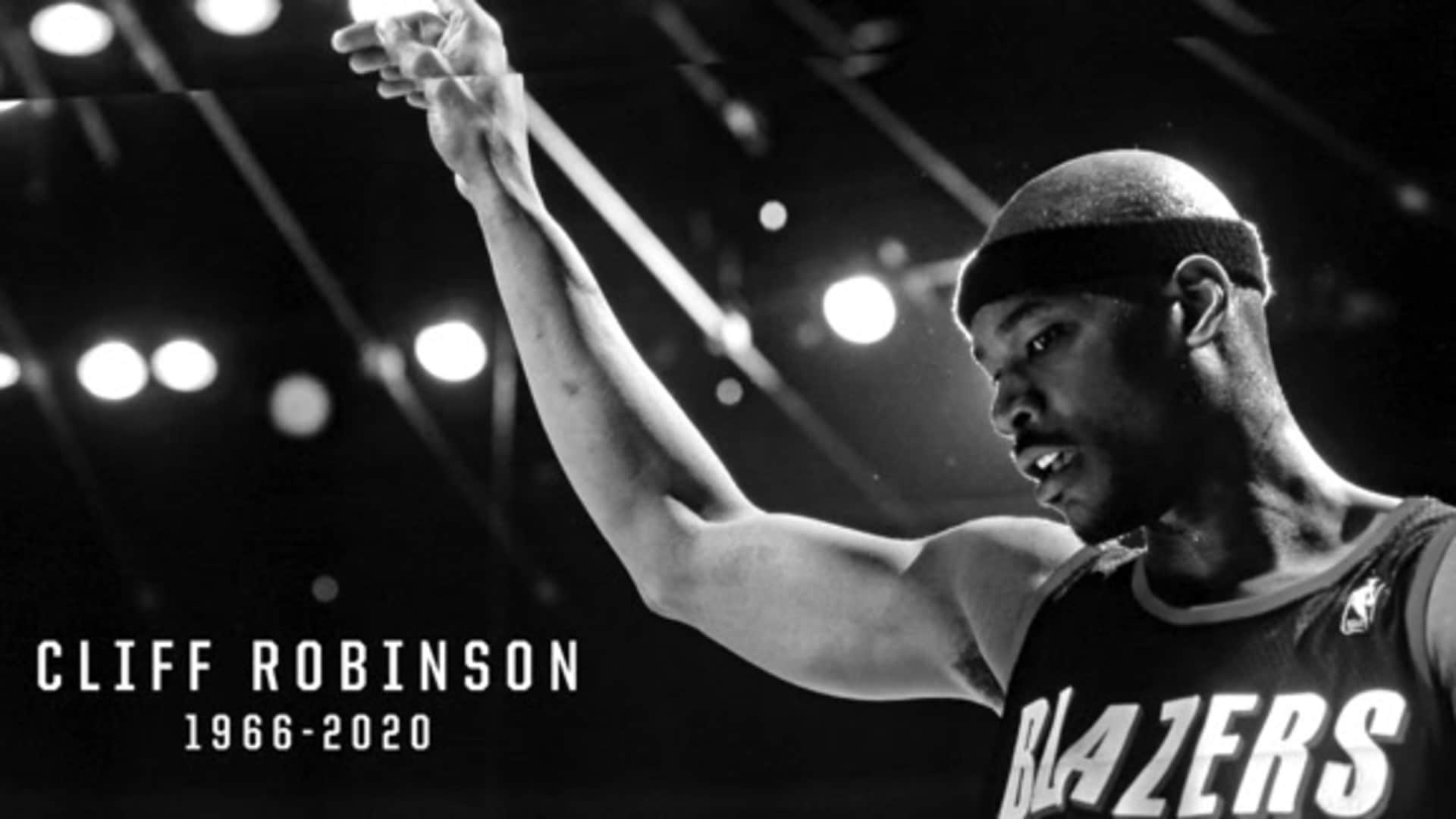 Remembering Trail Blazers Great Cliff Robinson