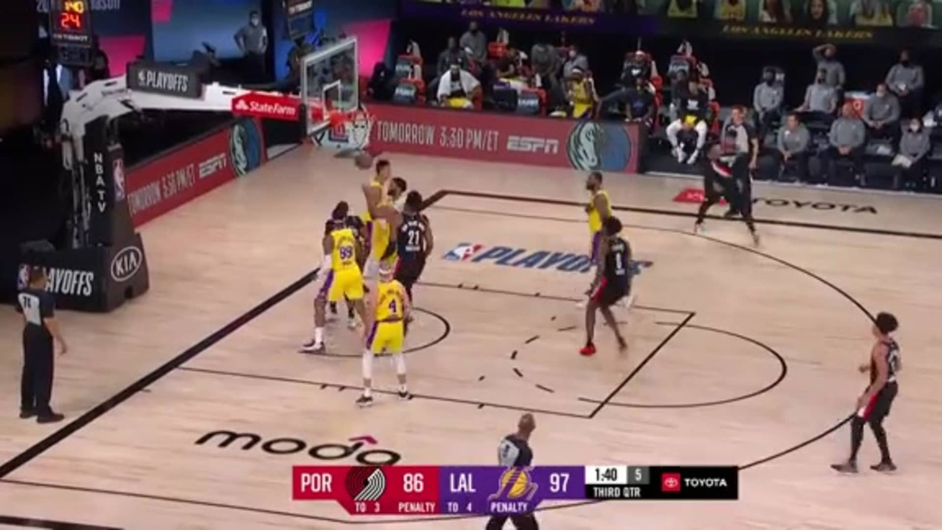 CJ McCollum (36 PTS, 7 AST, 6 REB) Game 5 Highlights vs. Lakers