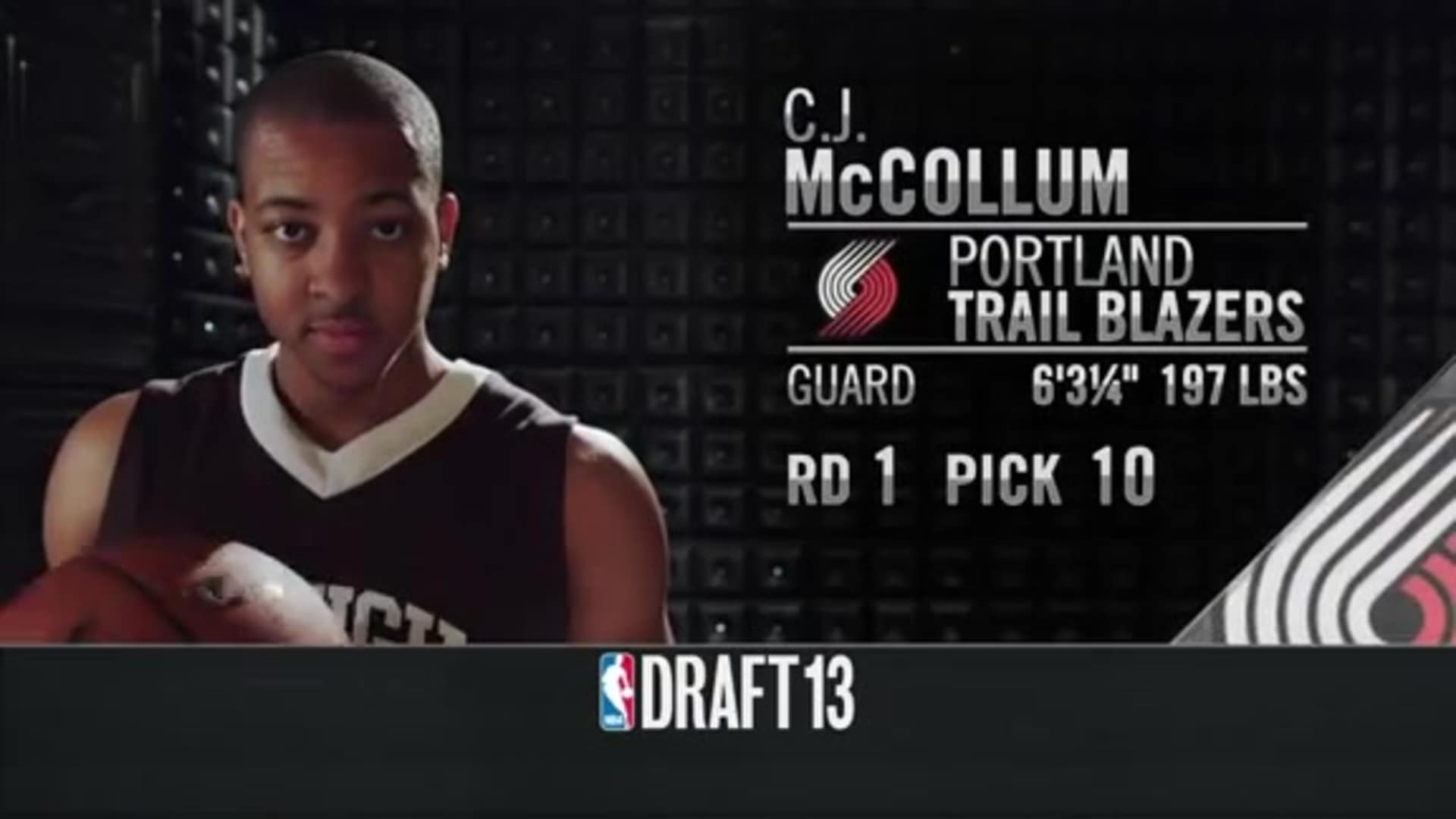 Draft Throwback: CJ McCollum