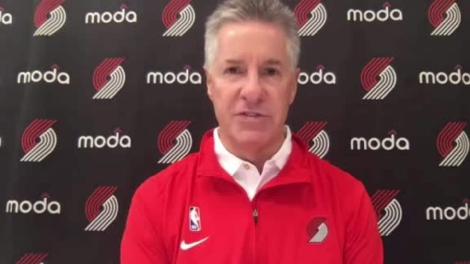 Neil Olshey discusses the Trail Blazers offseason moves