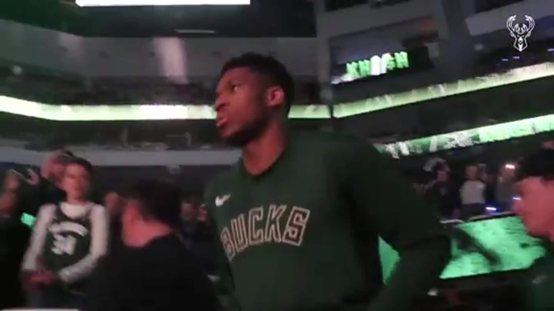 All-Access: Bucks 2019 Home Opener vs. Miami HEAT | Restricted Area