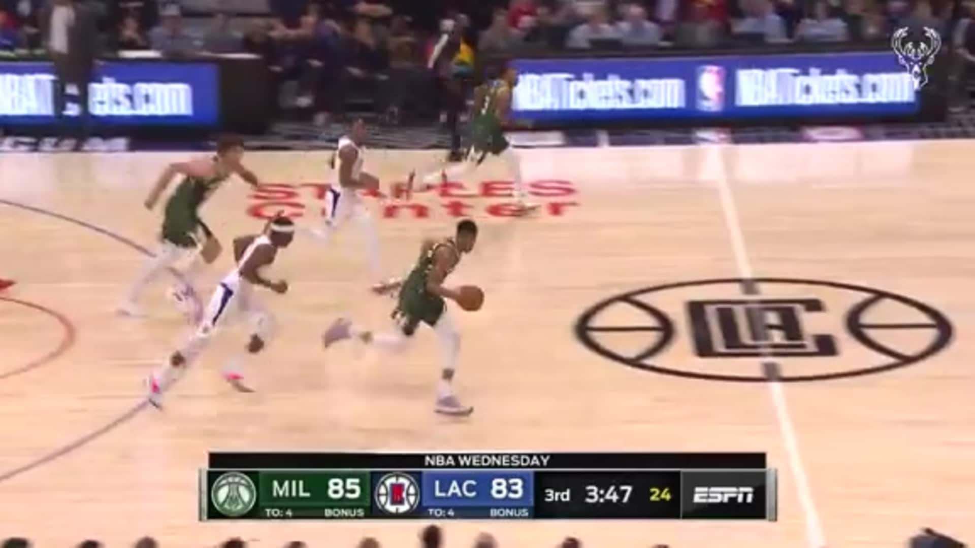 Game Highlights: Bucks 129 - Clippers 124 | 11.6.19