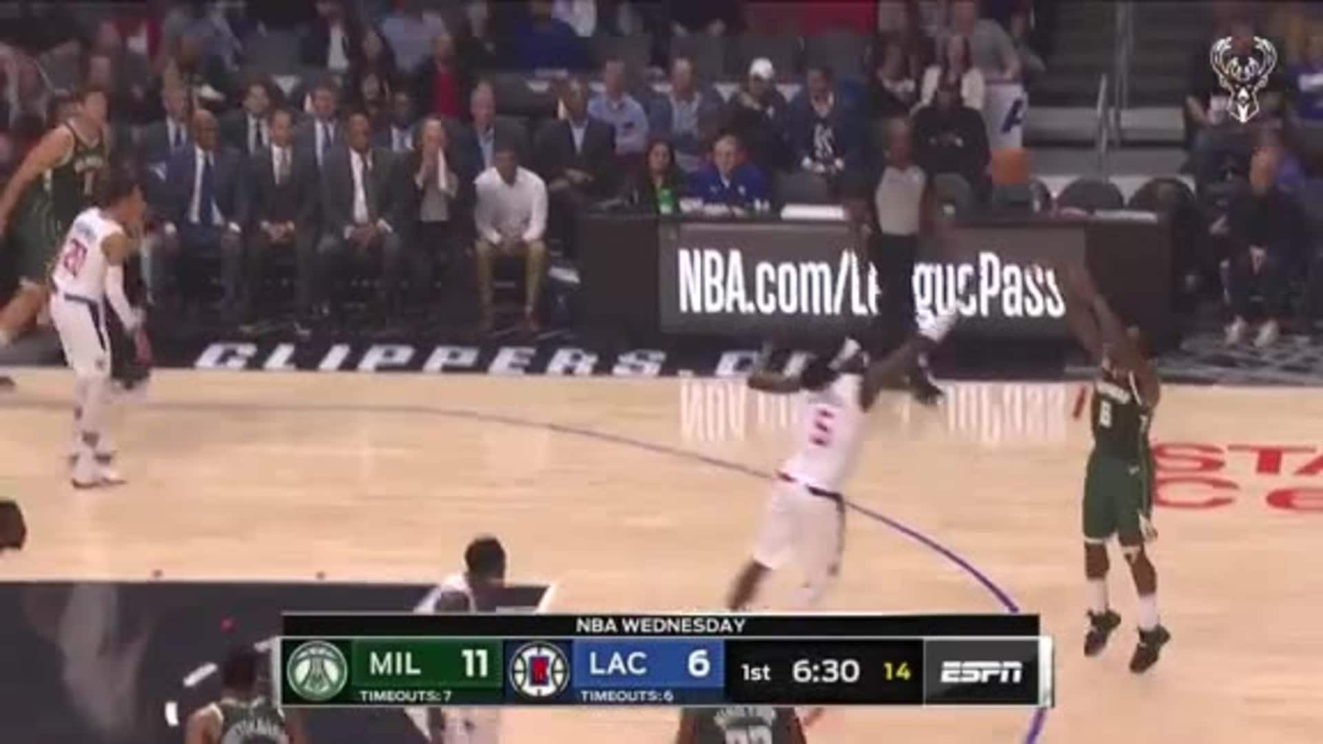 Eric Bledsoe 20 Points Vs Clippers | 11.6.19