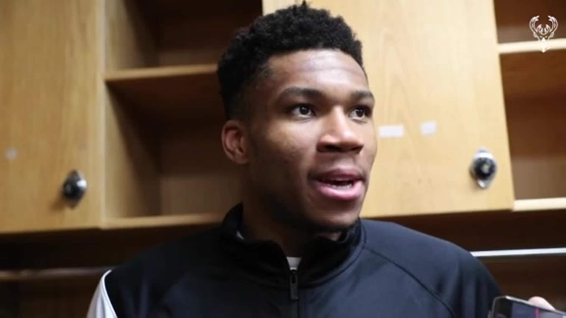 Giannis Antetokounmpo Postgame Interview | 11.10.19