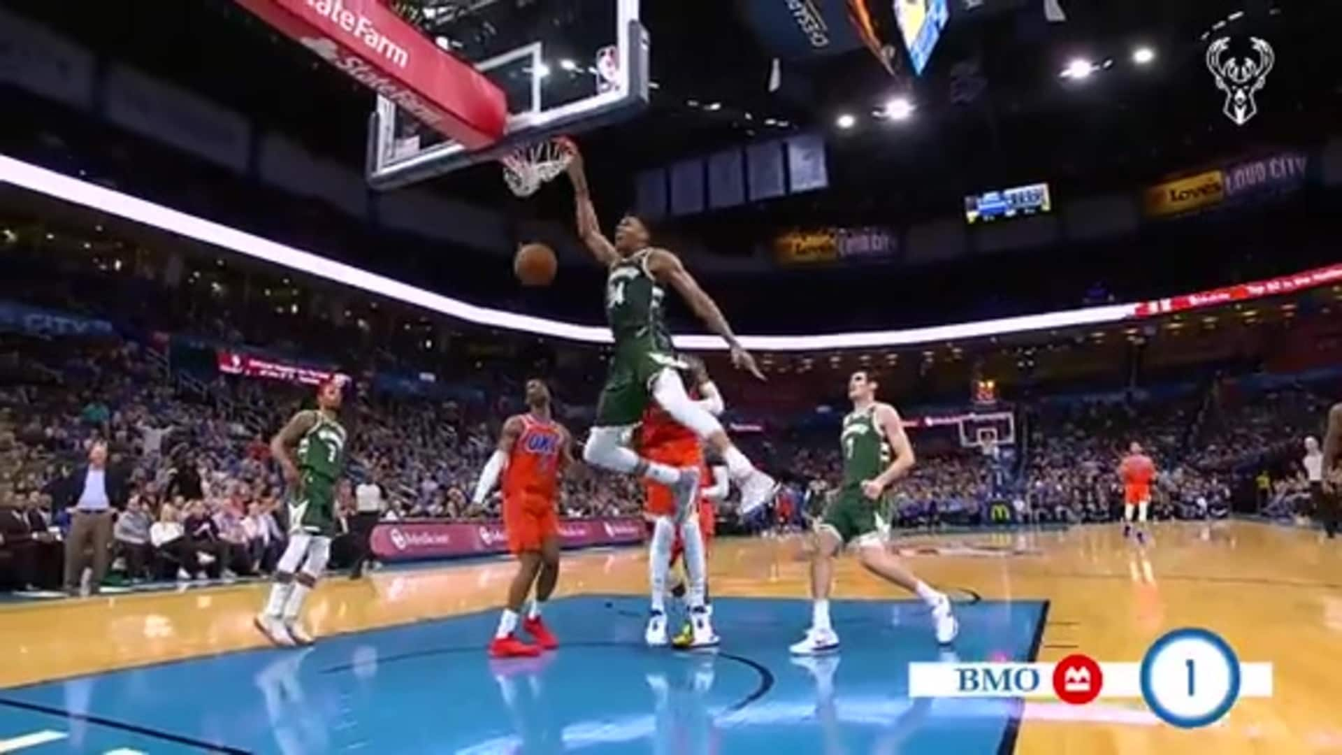 BMO Harris Bank Top Five Plays of 2019-20: Week 3
