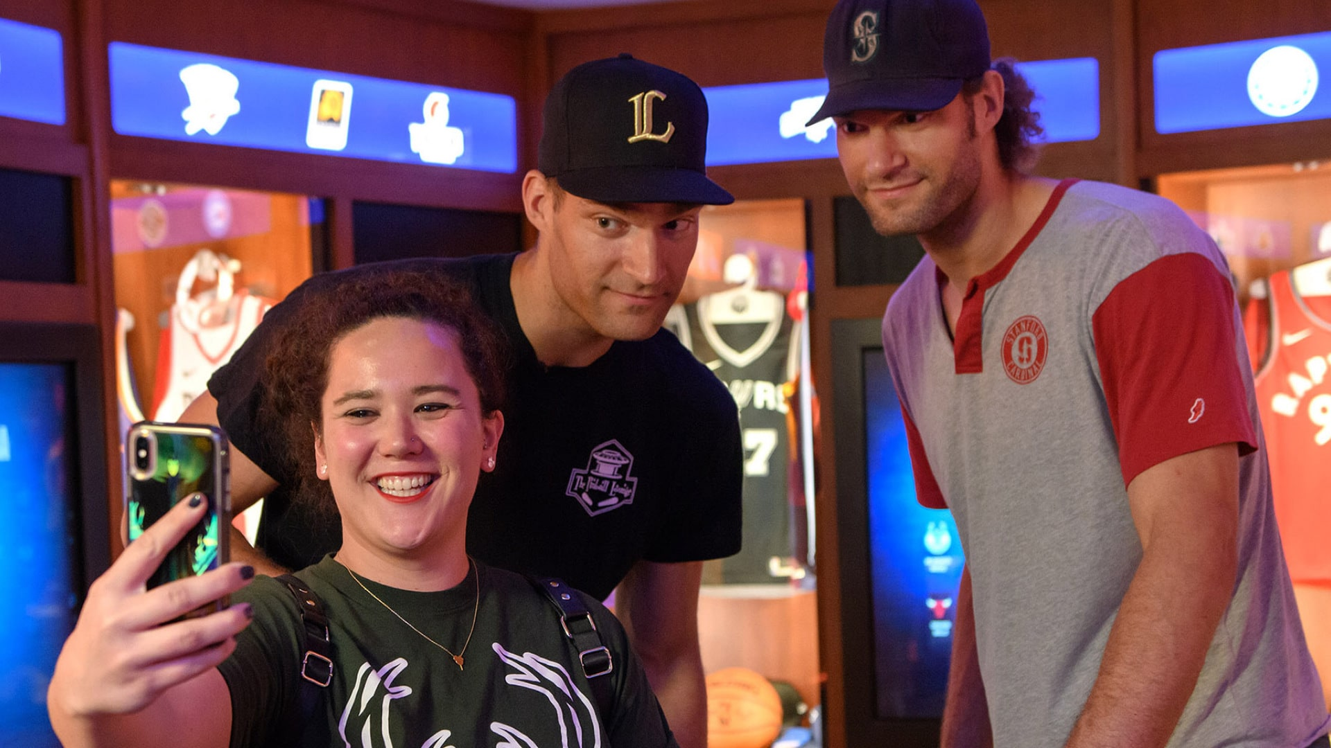 All-Access: Brook & Robin Lopez Visit NBA Experience at Disney