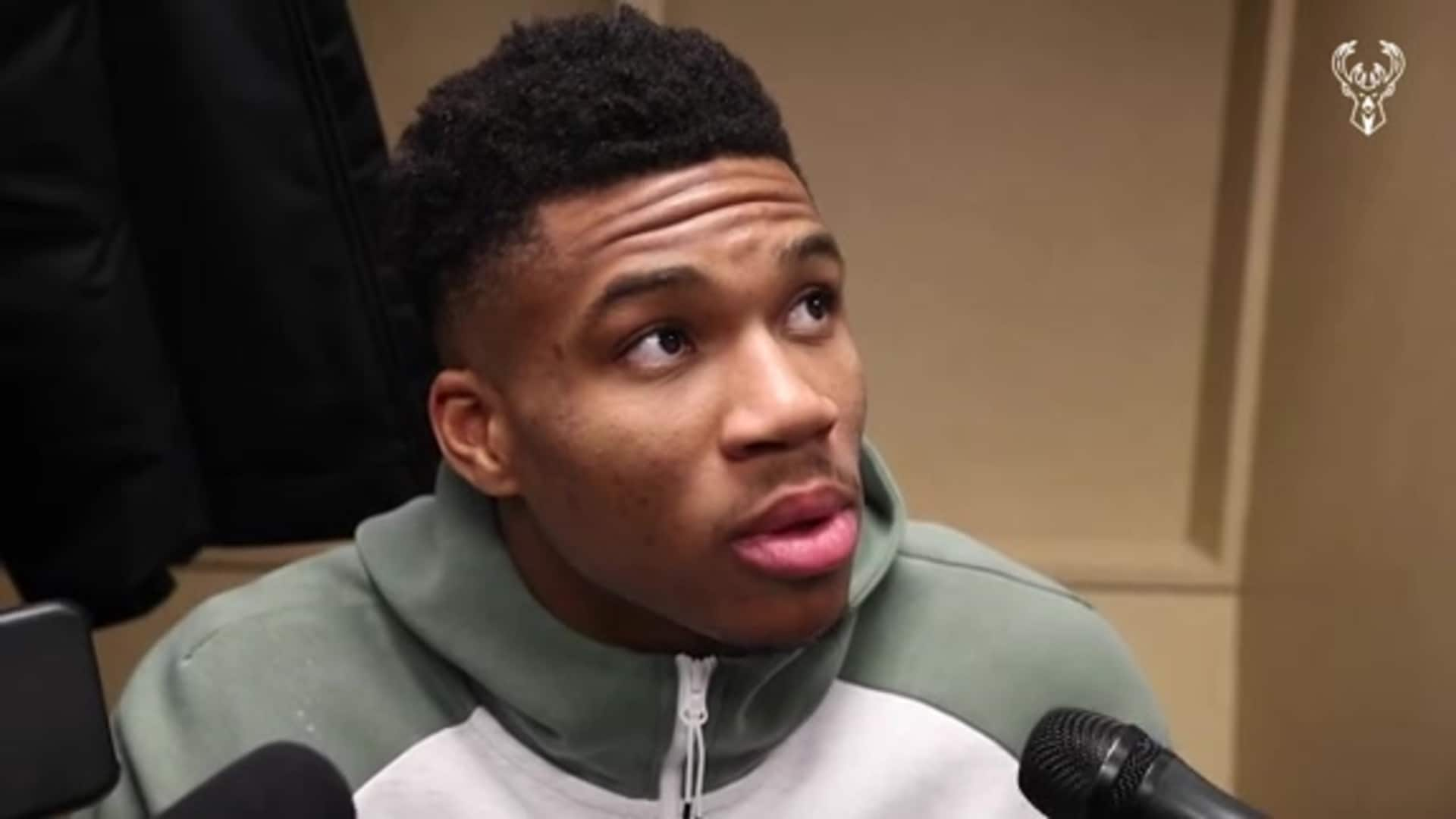 Giannis Antetokounmpo Postgame Interview | 11.16.19