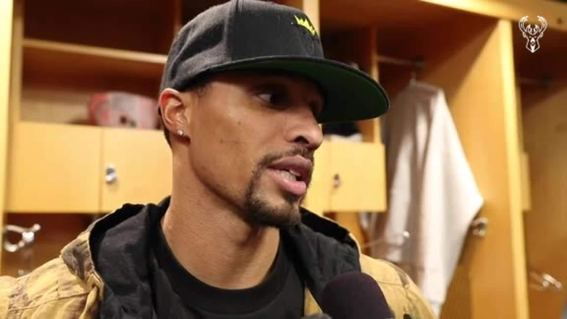 George Hill Postgame Interview | 11.18.19