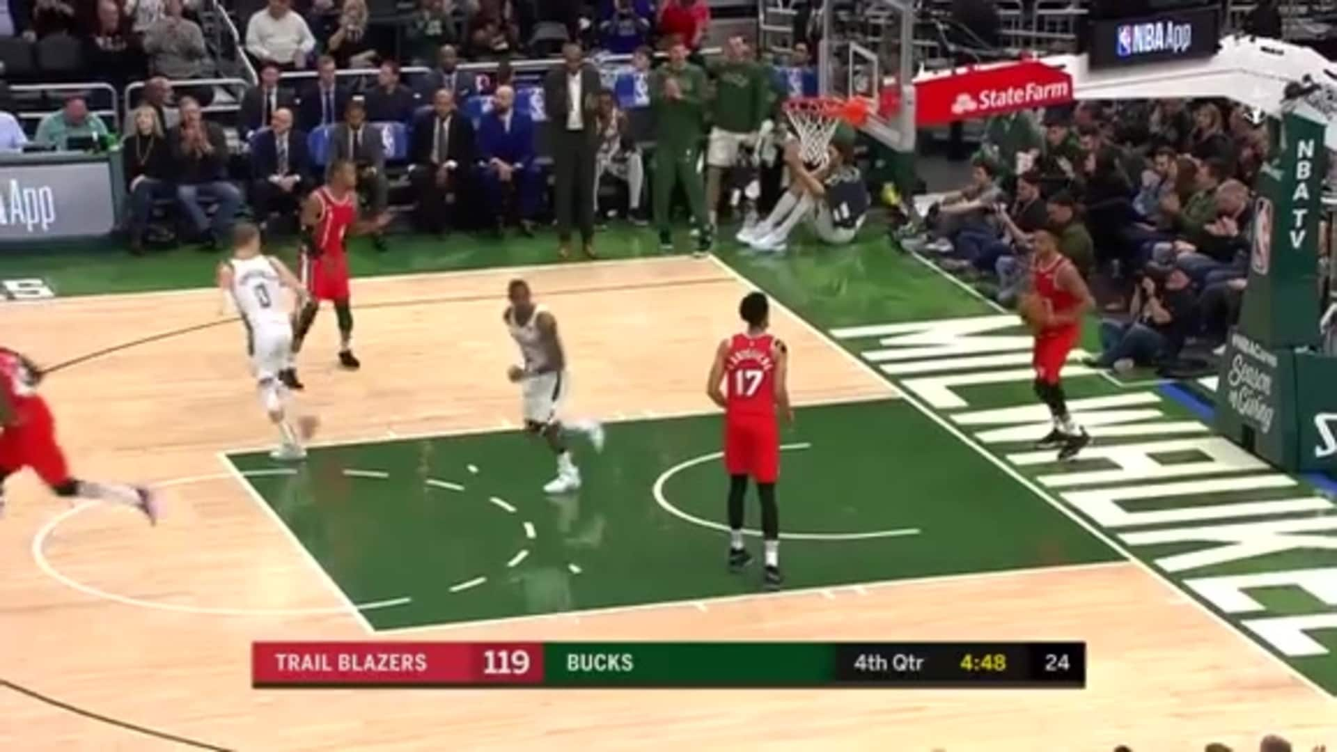 Eric Bledsoe 30 Points Vs. Trail Blazers | 11.21.19