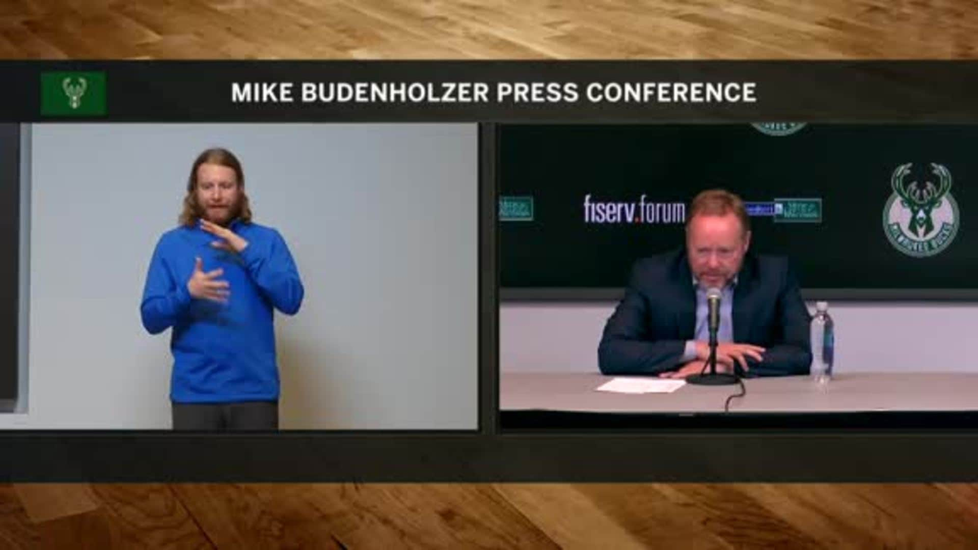 Coach Budenholzer ASL Press Conference | 11.23.19
