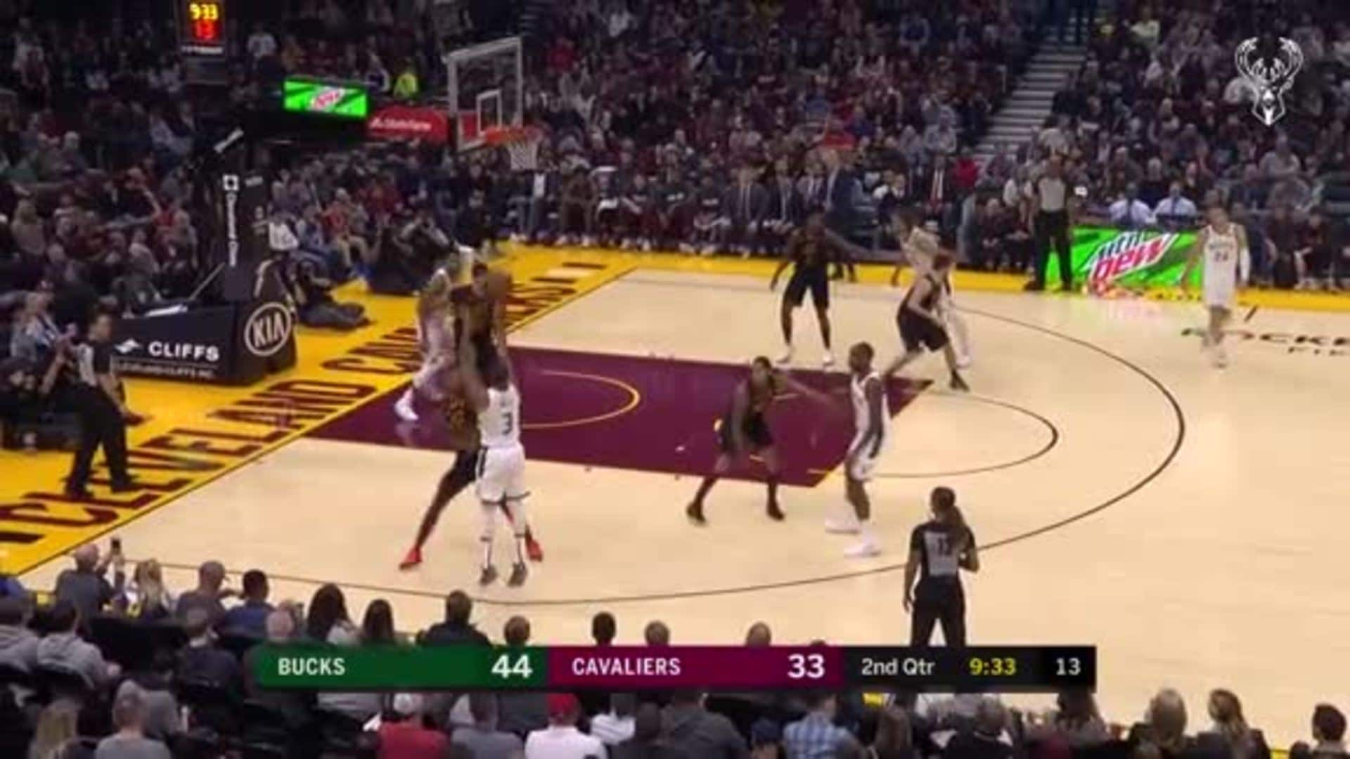 George Hill 18 Points Vs. Cavaliers | 11.29.19