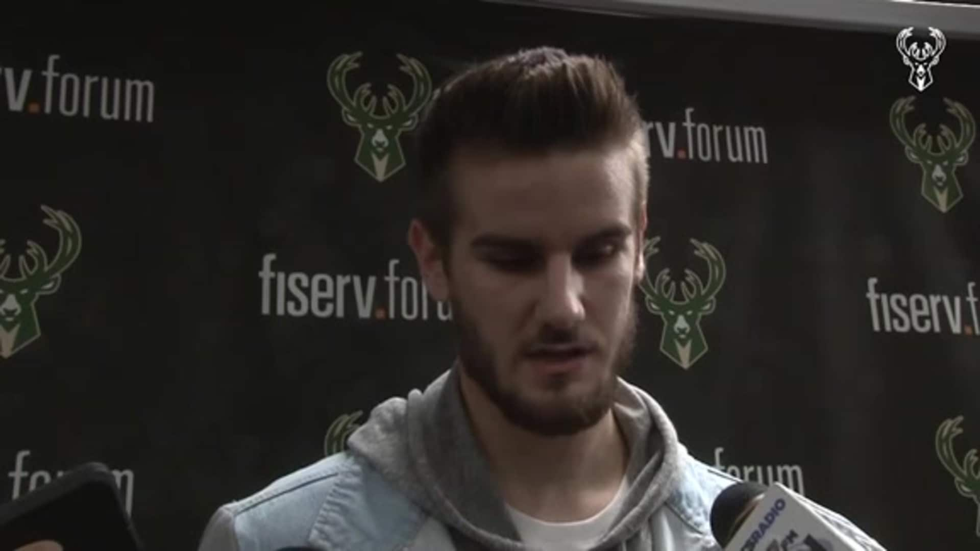 Dragan Bender Postgame Interview | 11.30.19