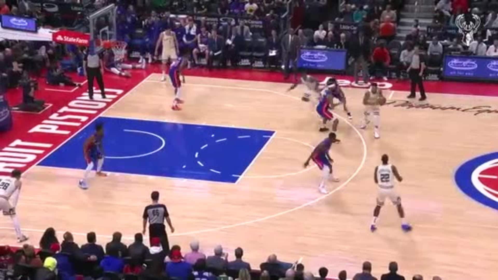 Game Highlights: Bucks 127 - Pistons 103 | 12.4.19