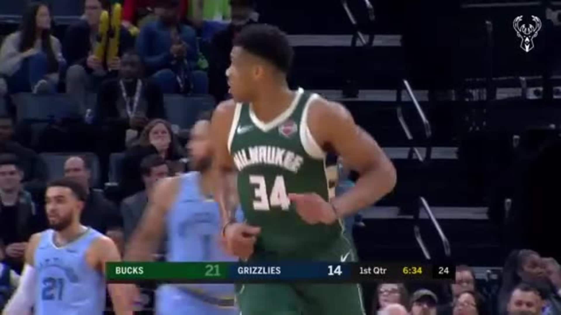 Game Highlights: Bucks 127 - Grizzlies 114 | 12.13.19