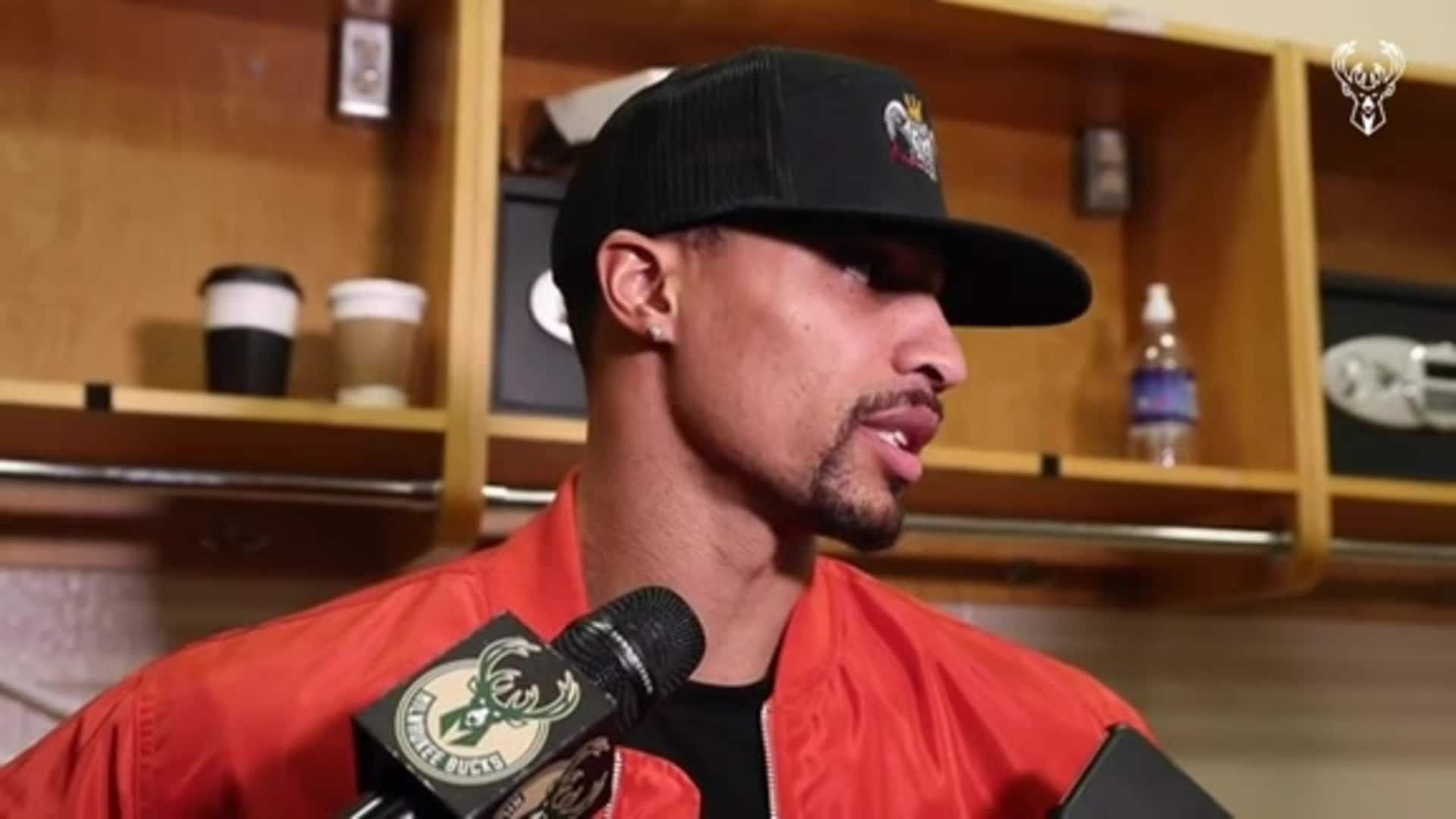 George Hill Postgame Interview | 12.25.19