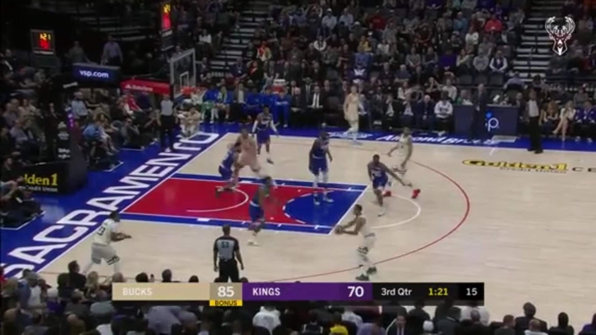 Sterling Brown First Career Double-Double | 1.10.20