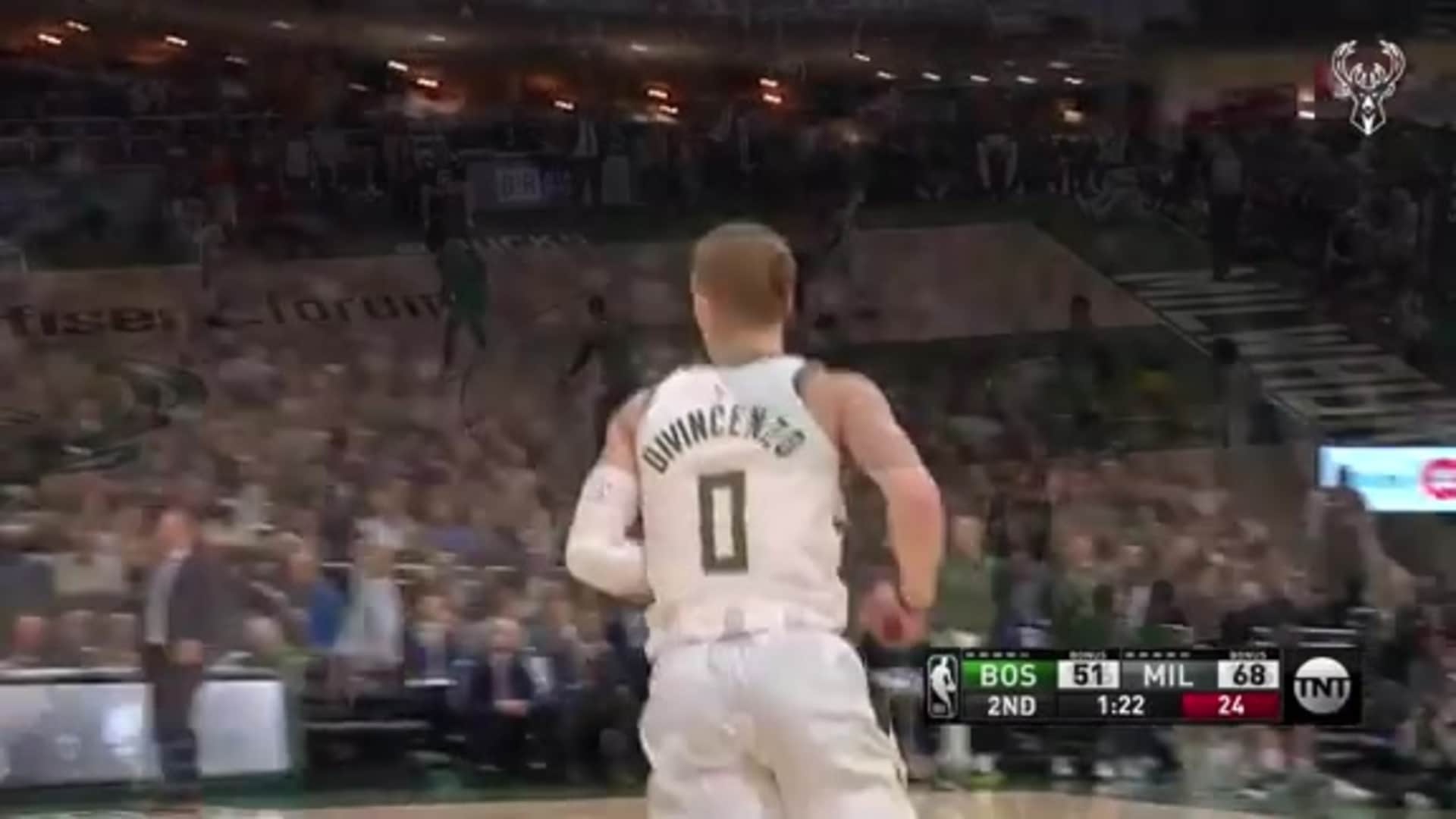 Donte DiVincenzo 19 Points Vs. Celtics | 1.16.20