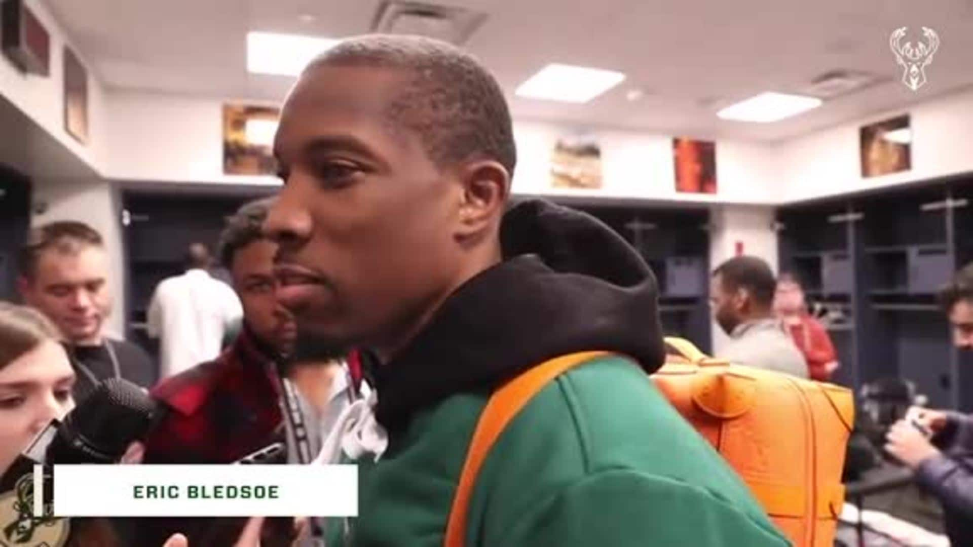 Eric Bledsoe Postgame Interview | 1.18.20