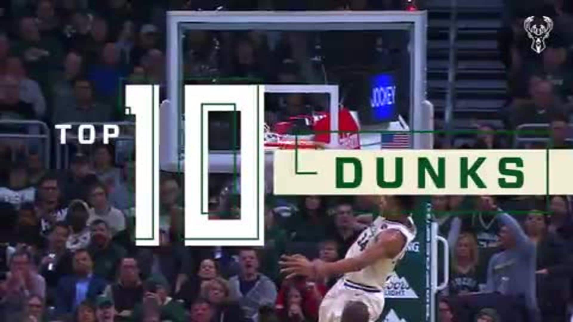 Top Ten Dunks of December 2019