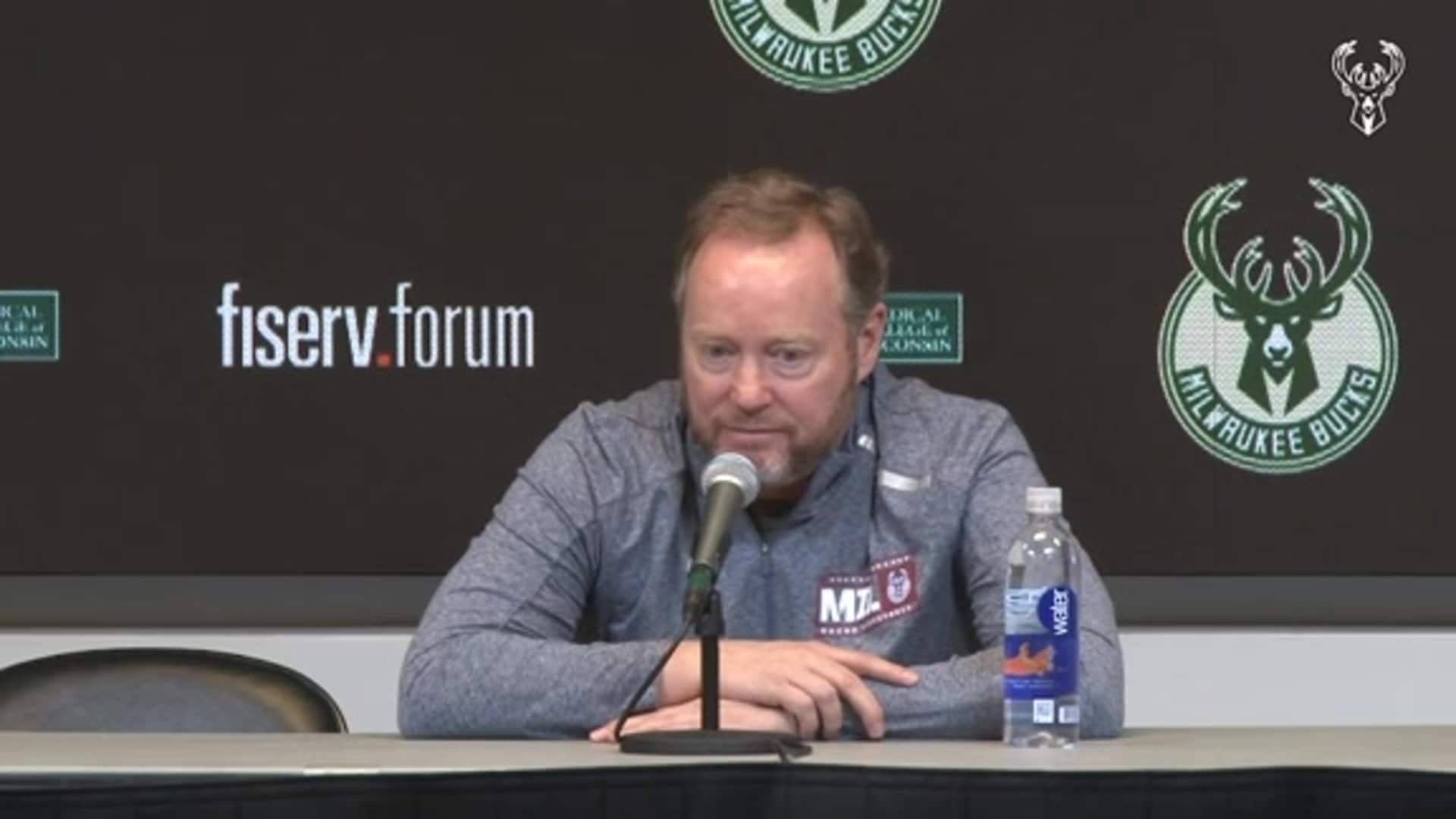 Coach Budenholzer Pregame Press Conference | 1.20.20