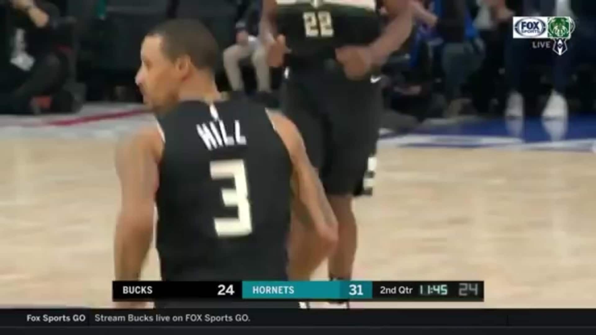 George Hill 16 Points Vs. Hornets | 1.24.20