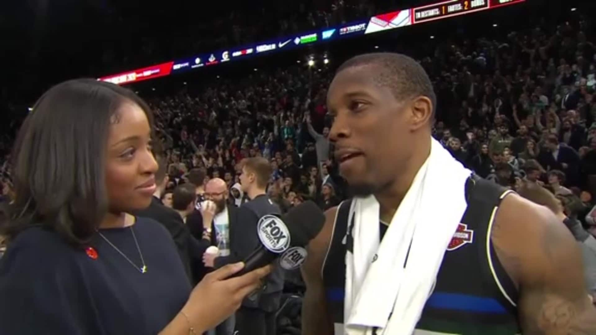 Eric Bledsoe Postgame Interview With Zora Stephenson   1.24.20