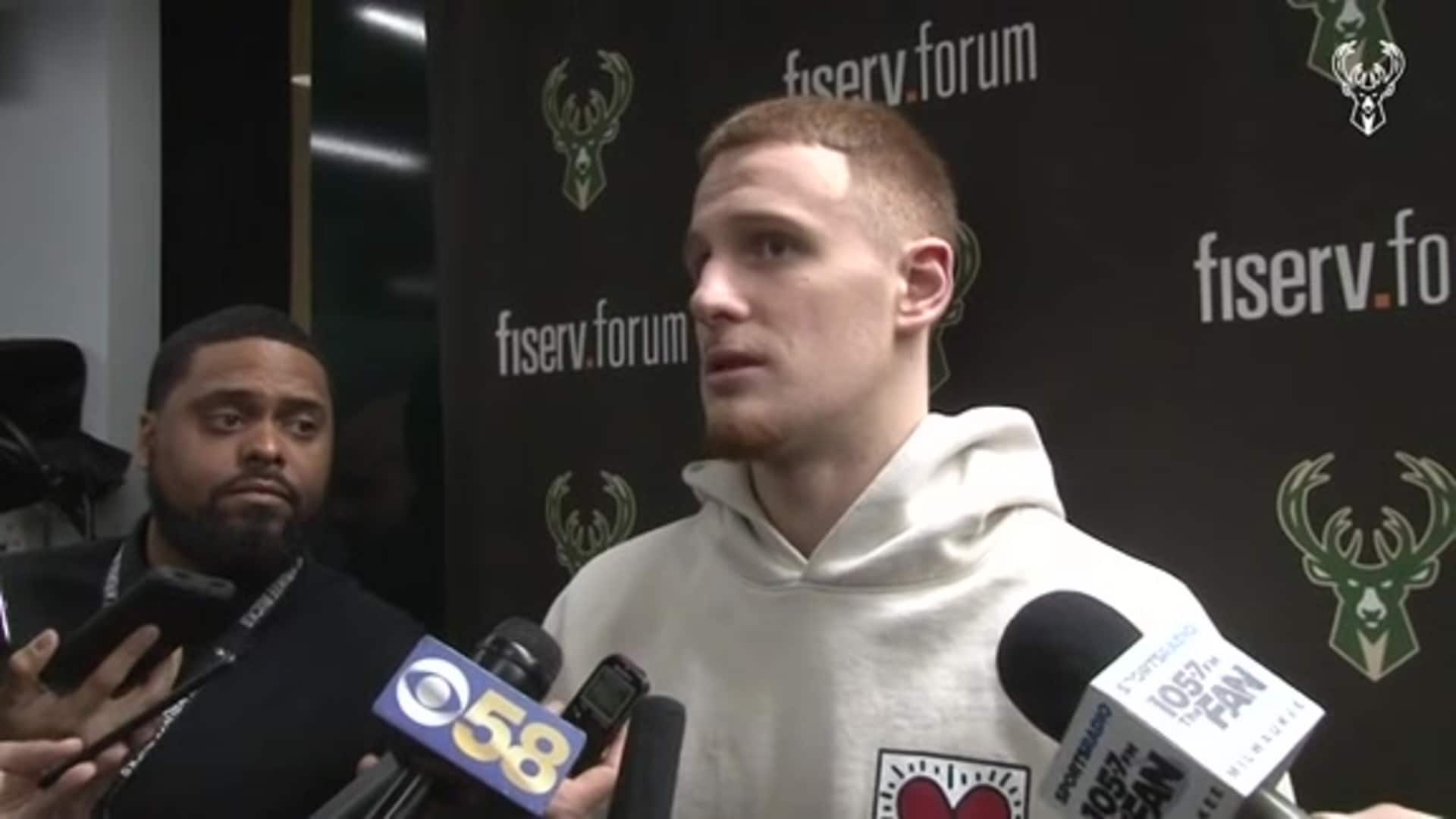Donte DiVincenzo Postgame Interview | 1.28.20