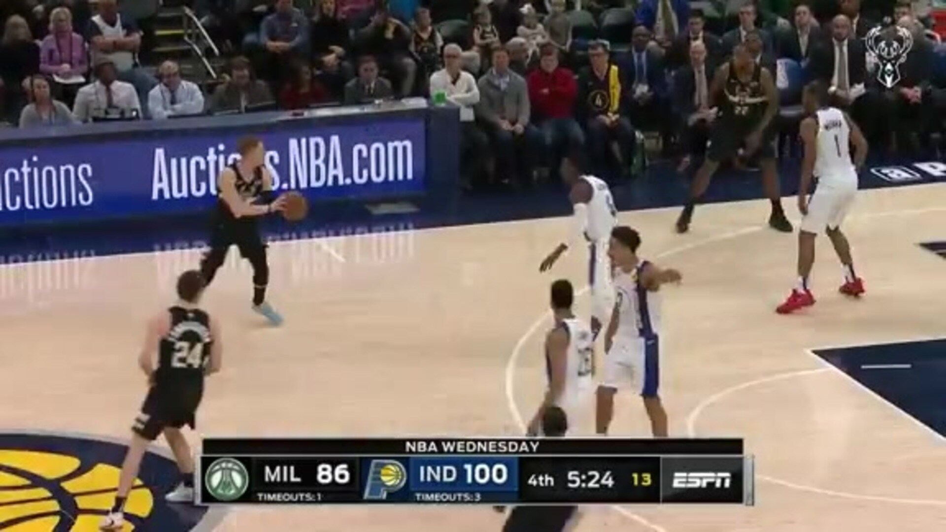 Game Highlights: Bucks 111 - Pacers 118 | 2.12.20