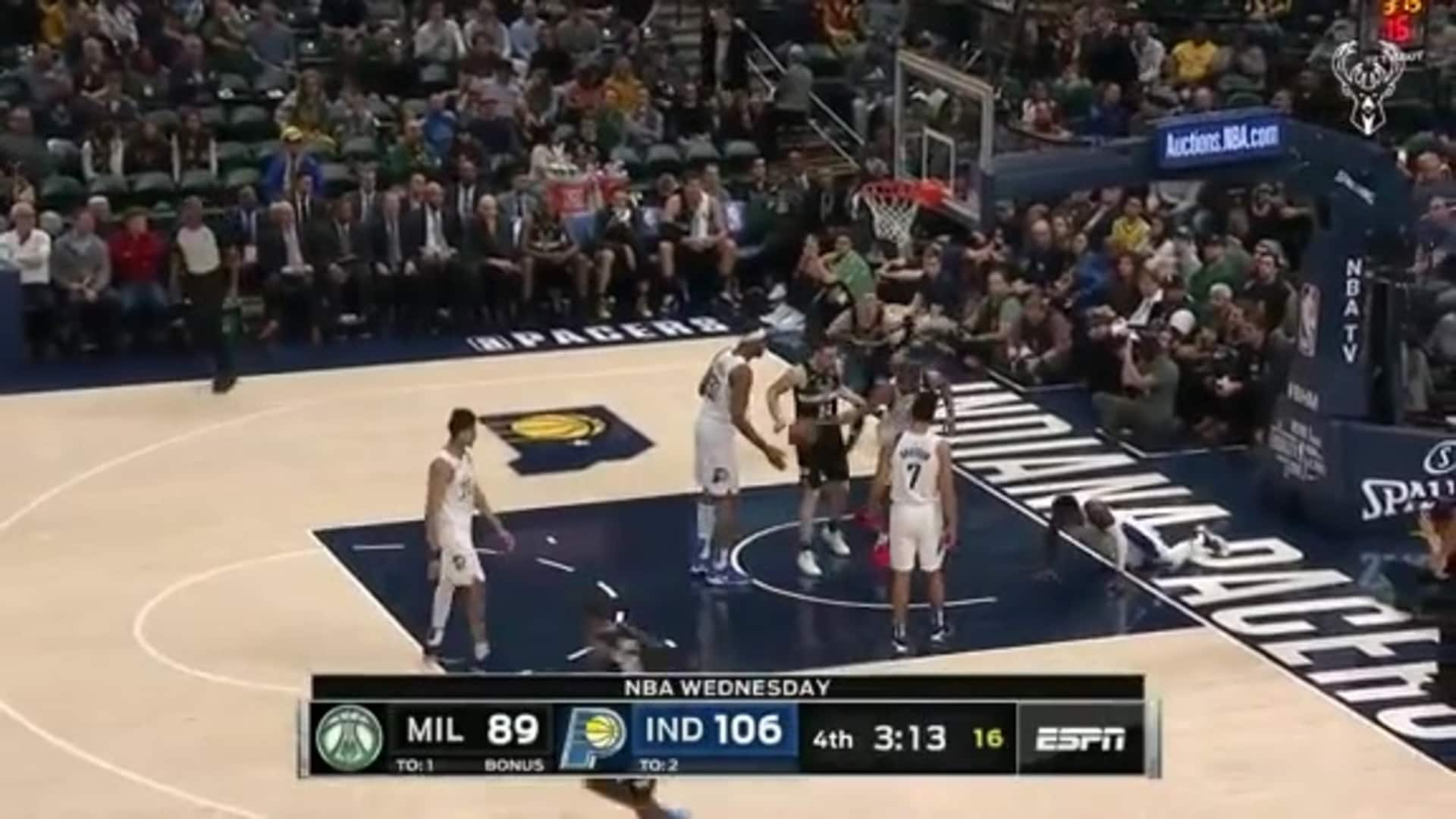Donte DiVincenzo 19 points Vs. Pacers   2.12.20