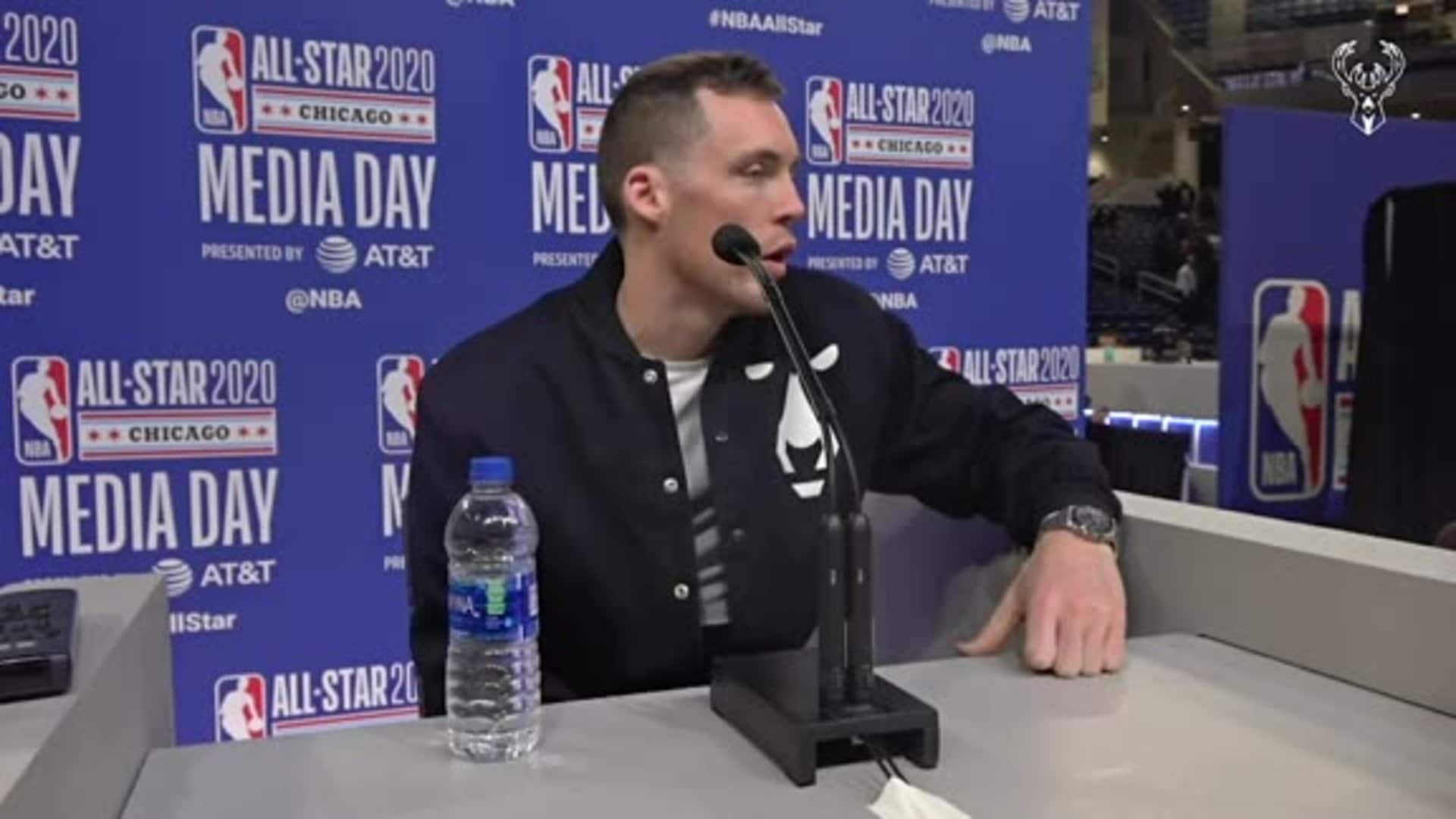 Pat Connaughton All-Star Weekend Press Conference | 2.15.20