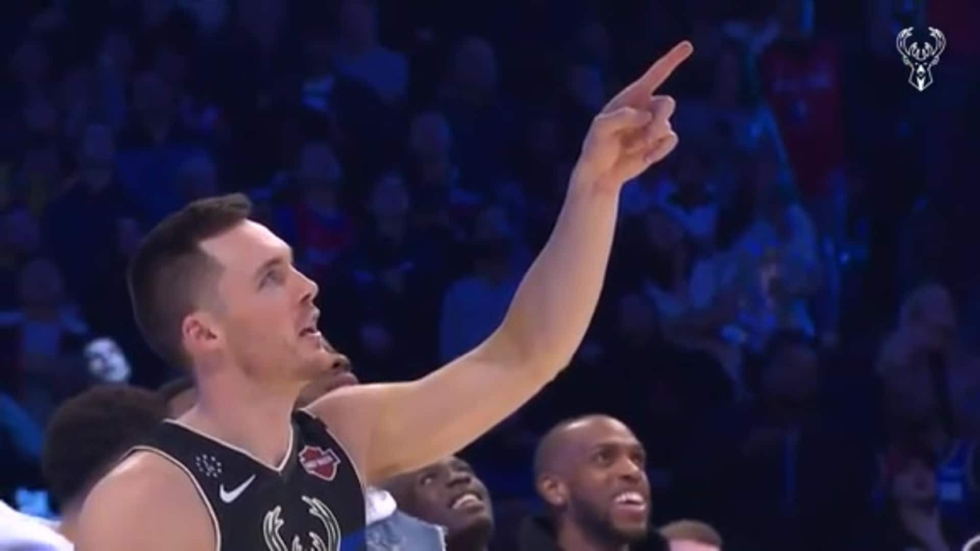 Pat Connaughton AT&T Dunk Contest Performance | 2.15.20