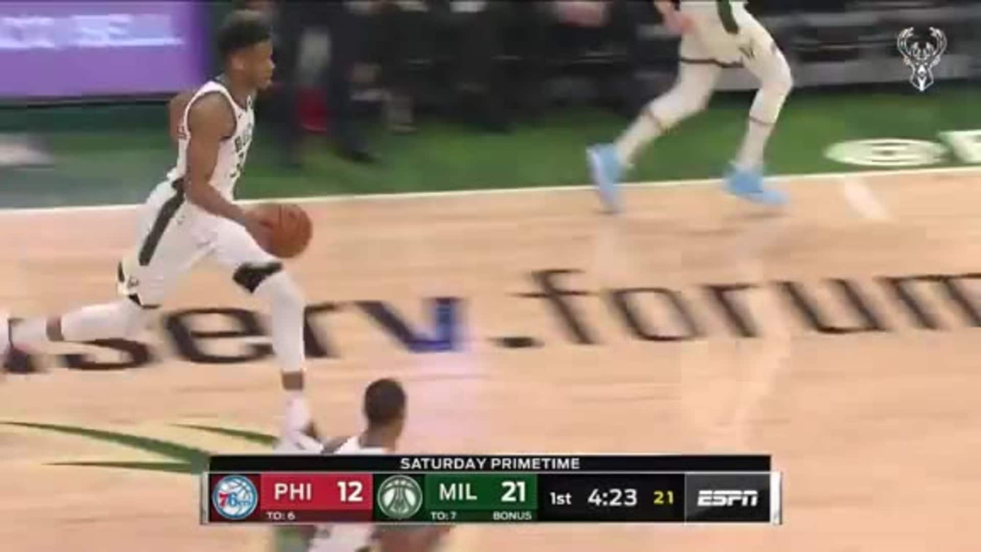 Giannis Antetokounmpo 31 Points vs. Sixers | 2.22.20