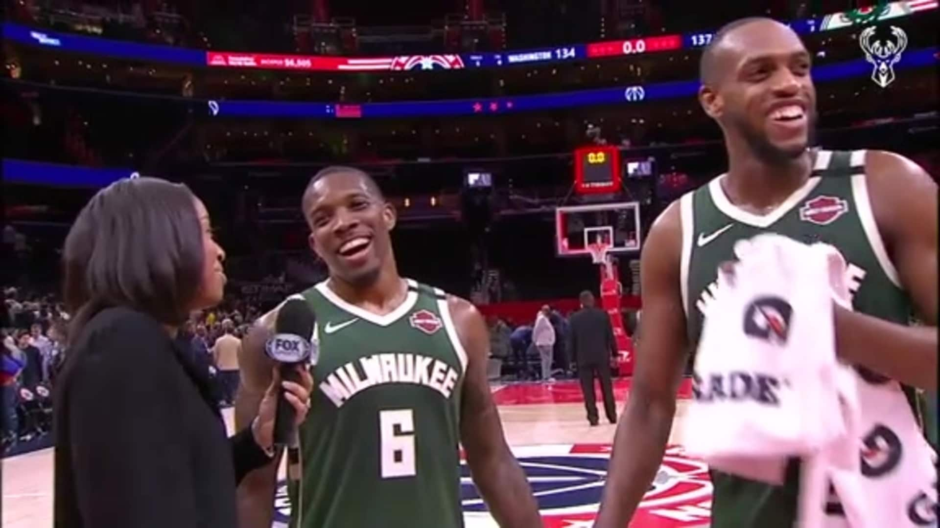 Eric Bledsoe & Khris Middletong Postgame Interview | 2.24.20