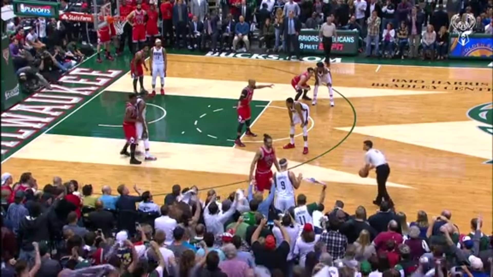 Bucks Classics: 2015 Playoffs vs. Chicago - Game 4