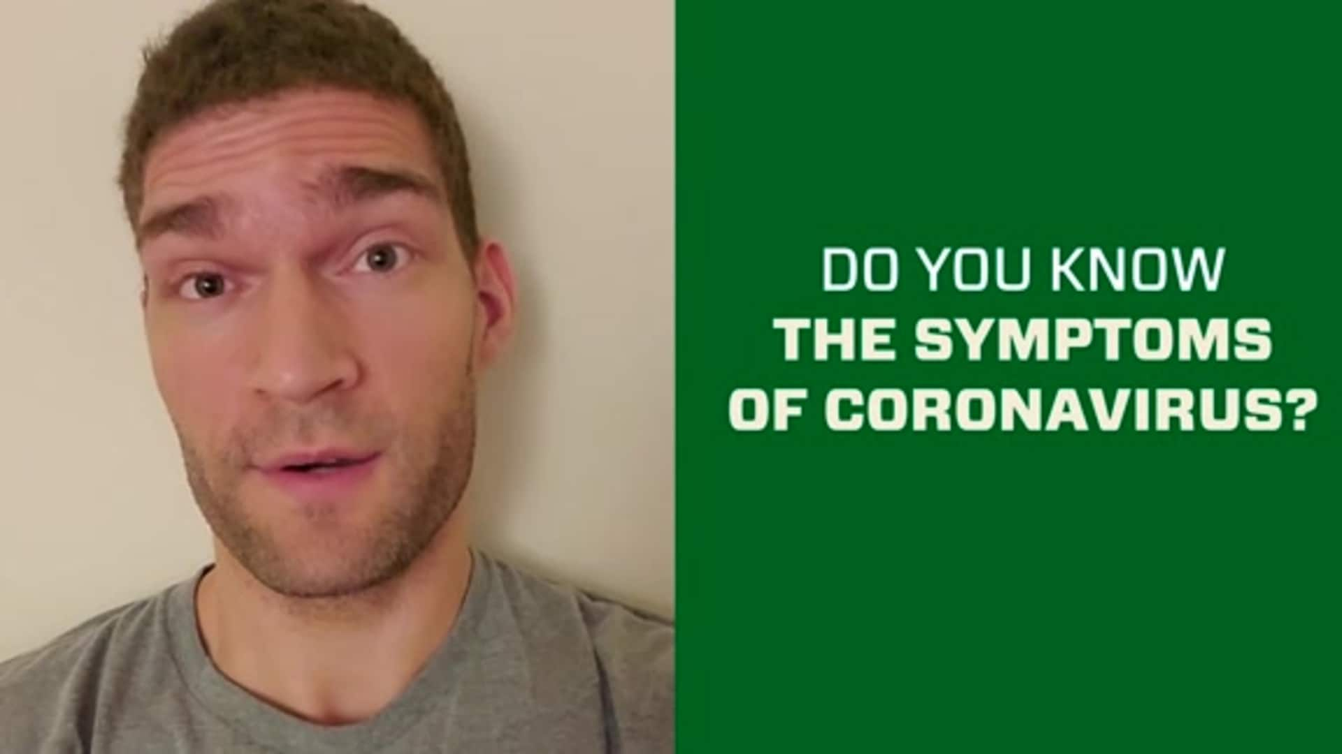 Brook Lopez: Do You Know The Symptoms Of Corona Virus?