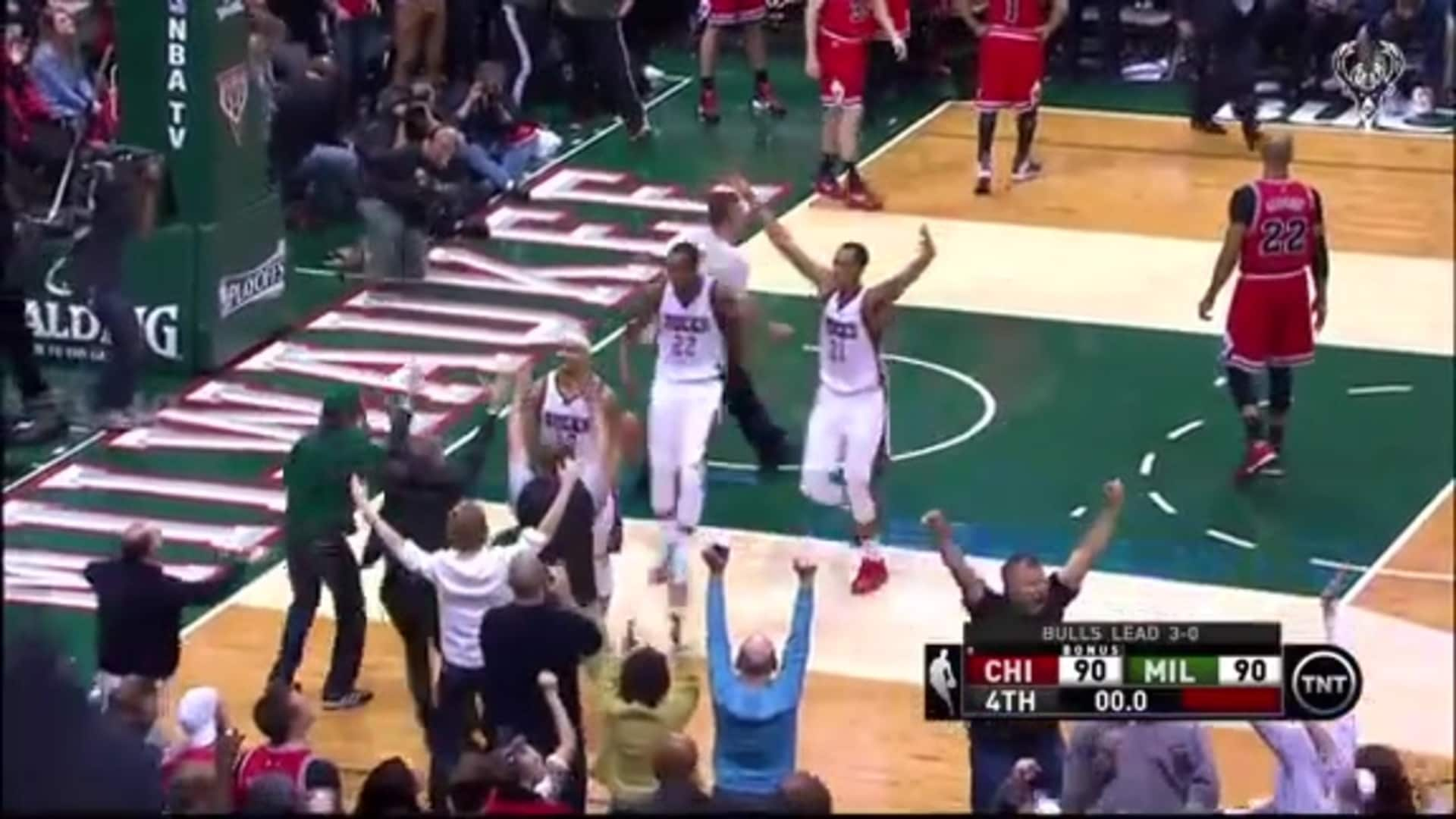 On This Date: Bucks Beat Bulls At The Buzzer | 4.25.15