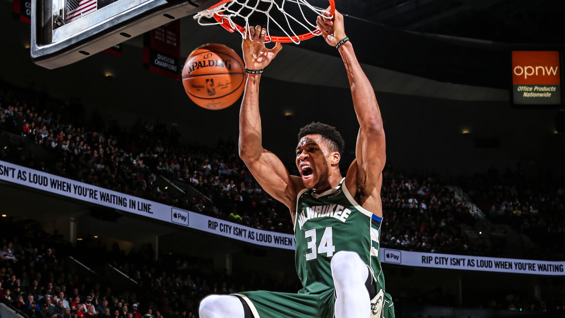 Every Giannis Antetokounmpo Slam Dunk From 2019-20