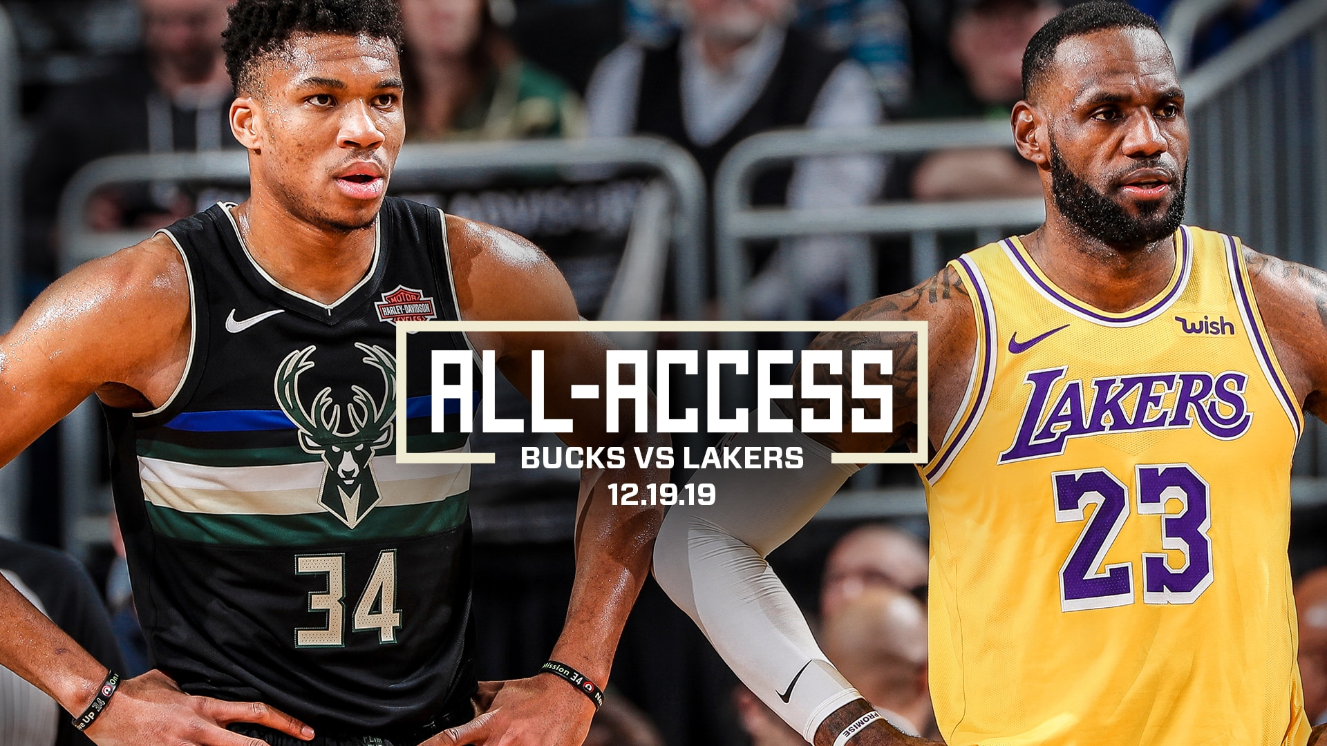 All-Access: Bucks vs. Lakers | Restricted Area 12.19.19