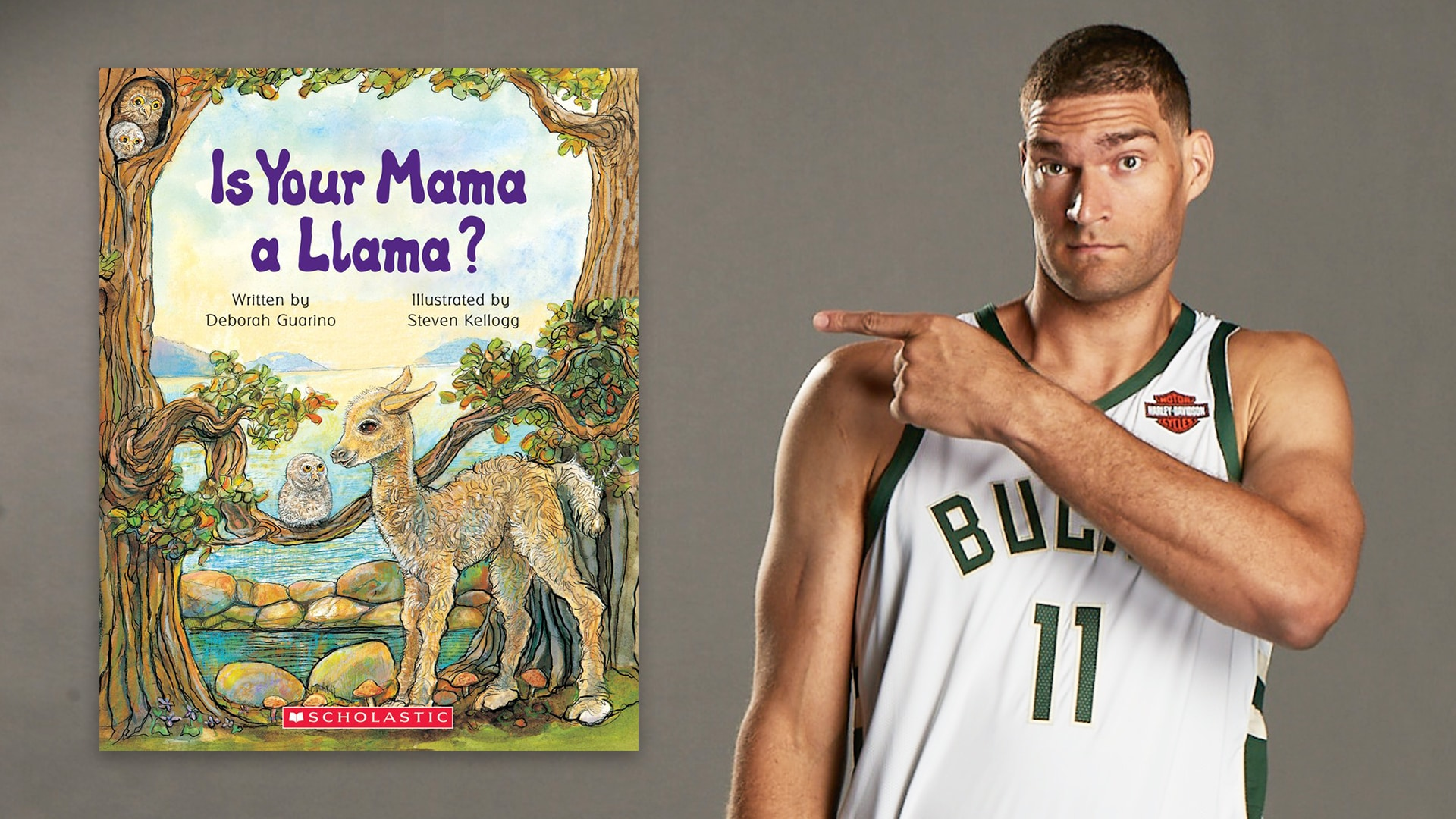 Storytime With Brook Lopez: Is Your Mama a Llama