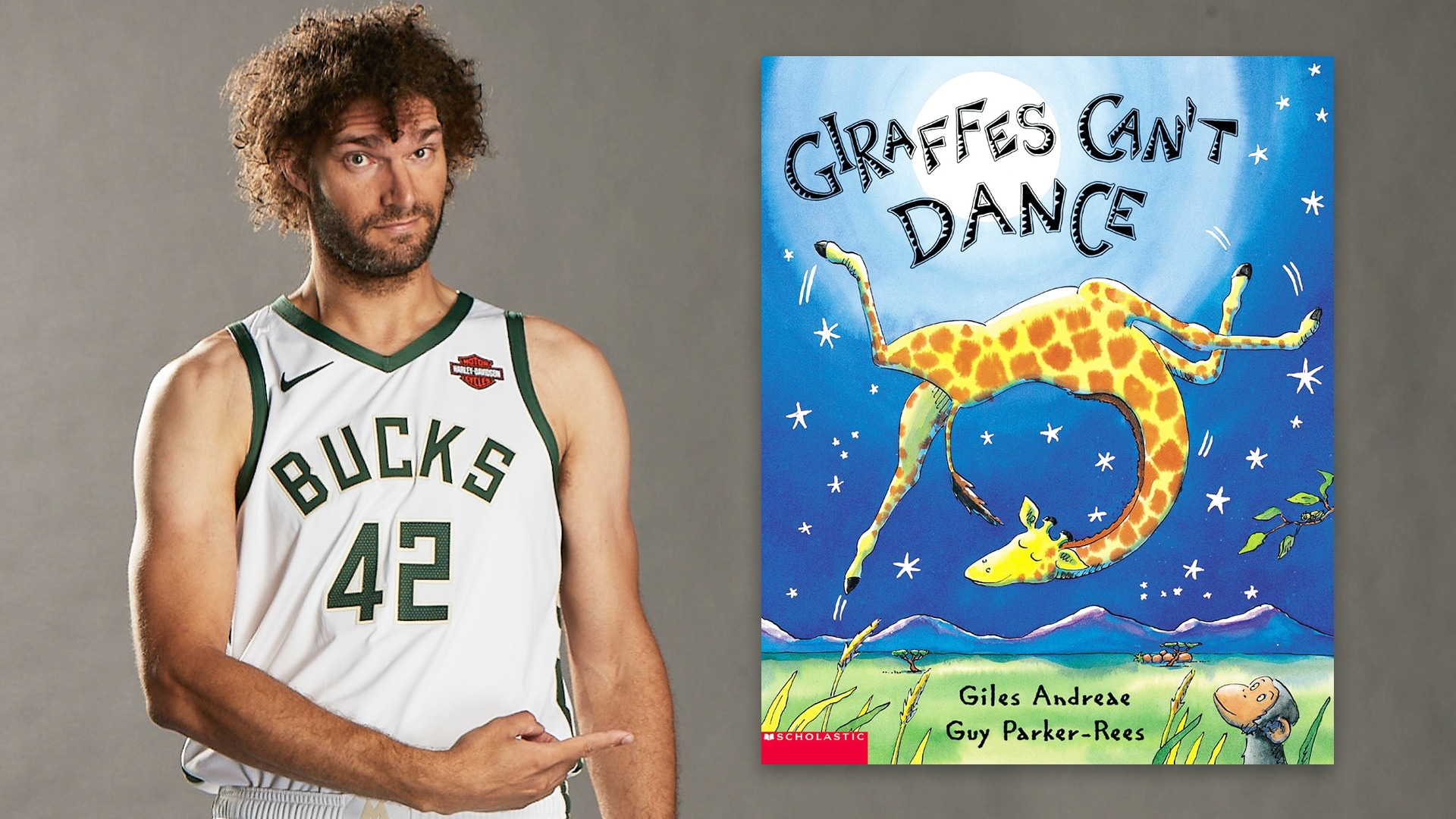 Storytime With Robin Lopez: Giraffes Can't Dance