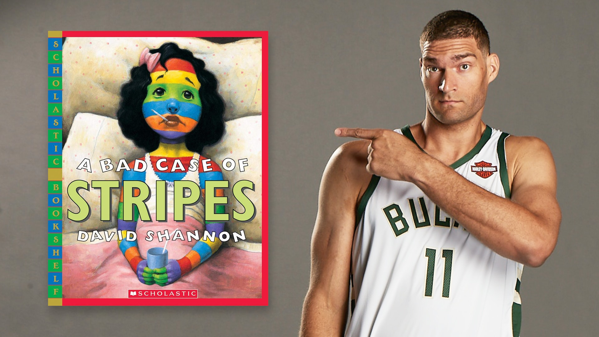 Storytime With Brook Lopez: A Bad Case of Stripes