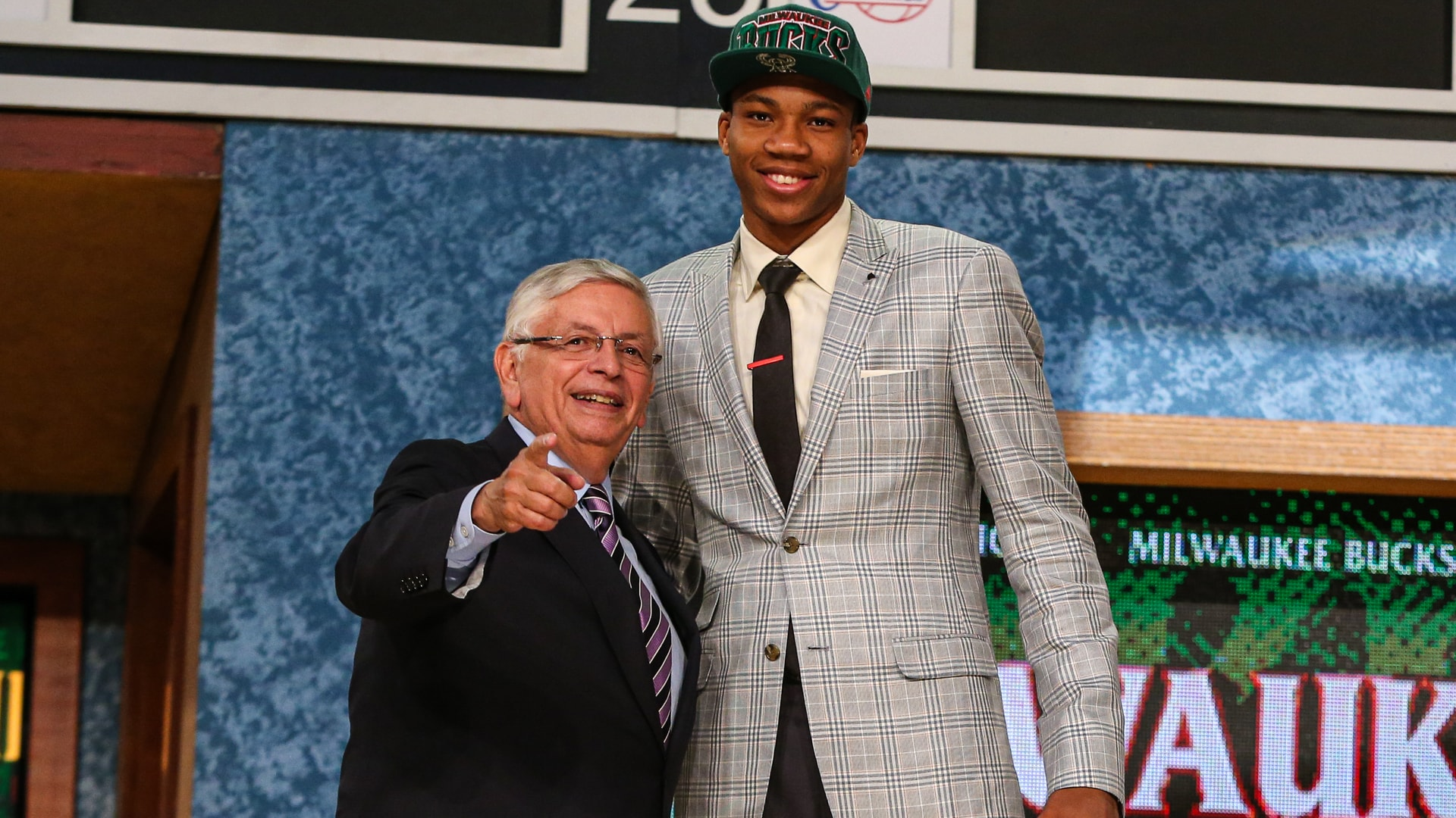 On This Date: Milwaukee Bucks Select Giannis Antetokounmpo | 6.27.13