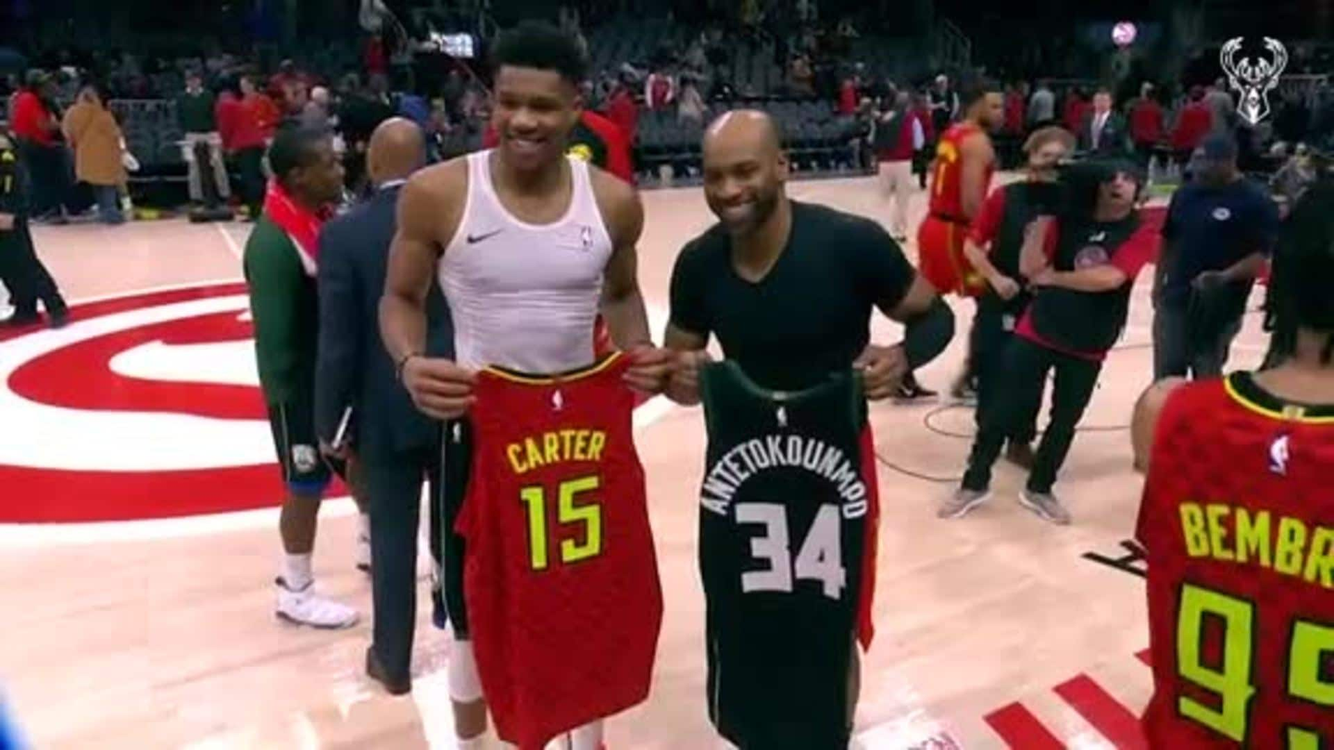 The Bucks Thank Vince Carter For 22 Years Of Vinsanity