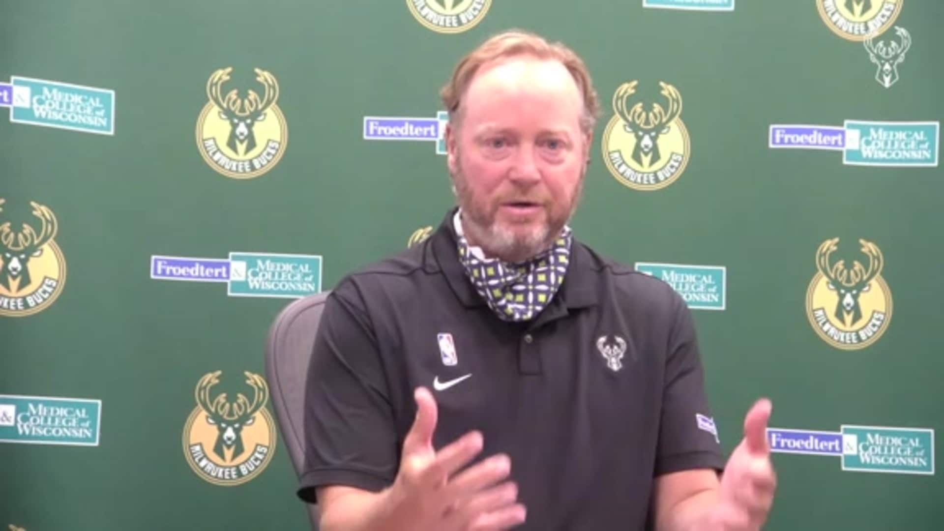 Coach Budenholzer Press Conference | 7.1.20