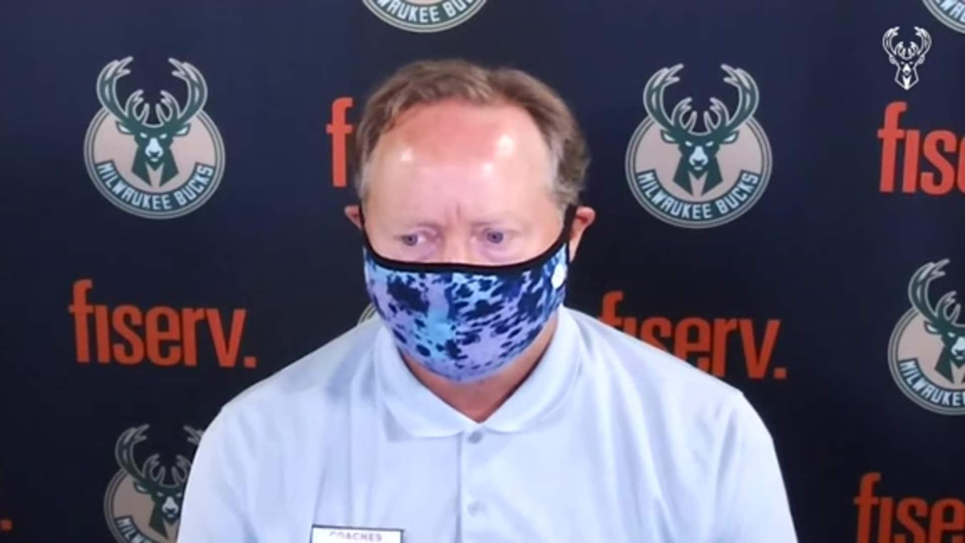 Coach Budenholzer Press Conference | 8.2.20
